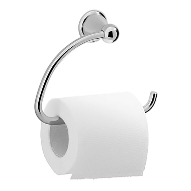 Valsan Sintra Wall Mounted Toilet Paper Holder; Chrome