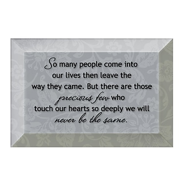 Dexsa Simple Expressions ''So Many People'' Textual Art Plaque