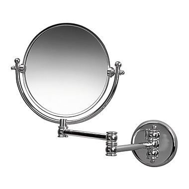 Valsan Classic 3x Wall Mirror; Chrome