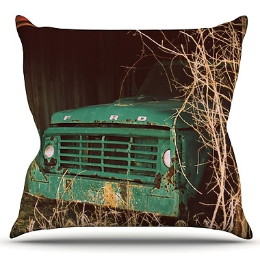KESS InHouse Ford by Angie Turner Outdoor Throw Pillow