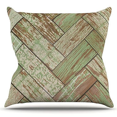 KESS InHouse Patina by Heidi Jennings Outdoor Throw Pillow