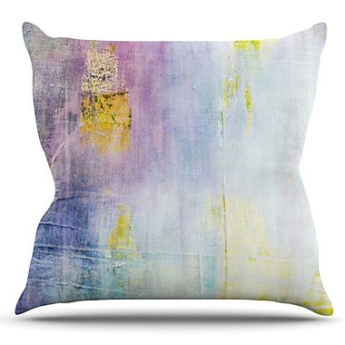 KESS InHouse Color Grunge by Iris Lehnhardt Outdoor Throw Pillow