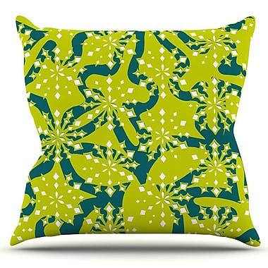 KESS InHouse Festive Splash by Miranda Mol Outdoor Throw Pillow