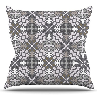 KESS InHouse Let it Snow by Miranda Mol Outdoor Throw Pillow