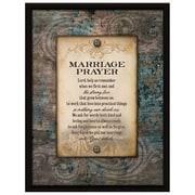 Dexsa ''Marriage Prayer...'' Textual Art Plaque