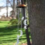Evergreen Flag & Garden Celestial Solar Mobile Wind Chime