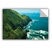 ArtWall Emerald Coast by Dennis Frates Wall Mural; 32'' H x 48'' W x 0.1'' D