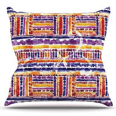 KESS InHouse Tribal by Louise Machado Outdoor Throw Pillow
