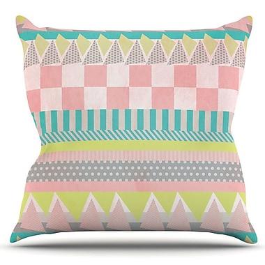 KESS InHouse Luna by Louise Machado Outdoor Throw Pillow