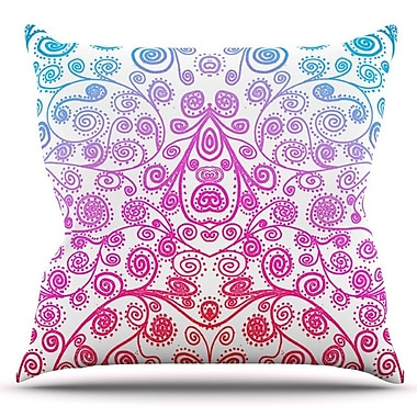 KESS InHouse Safe and Sound by Monika Strigel Outdoor Throw Pillow
