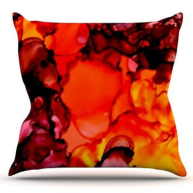 KESS InHouse Mordor by Claire Day Outdoor Throw Pillow