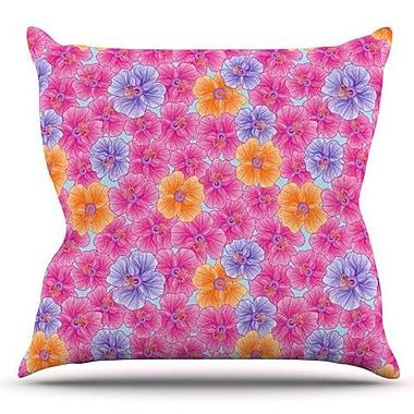 KESS InHouse My Garden by Julia Grifol Outdoor Throw Pillow