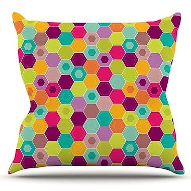 KESS InHouse Arabian Bee by Nicole Ketchum Outdoor Throw Pillow