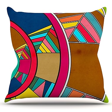 KESS InHouse Lov Pattern by Danny Ivan Outdoor Throw Pillow