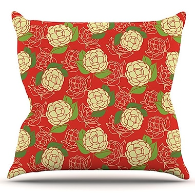 KESS InHouse Cammelia by Holly Helgeson Outdoor Throw Pillow