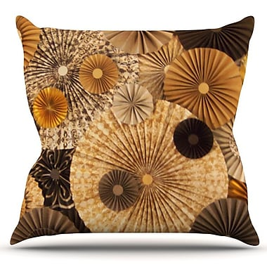 KESS InHouse Grounded by Heidi Jennings Outdoor Throw Pillow