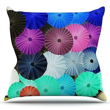 KESS InHouse Graceful by Heidi Jennings Outdoor Throw Pillow