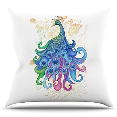 KESS InHouse Peace by Catherine Holcombe Outdoor Throw Pillow