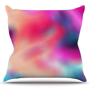 KESS InHouse Abstract by Danny Ivan Outdoor Throw Pillow