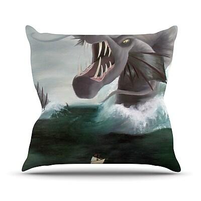 KESS InHouse Vessel Outdoor Throw Pillow
