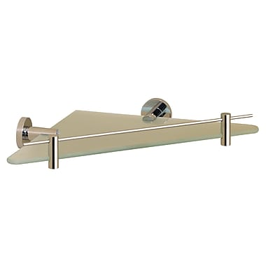Valsan Porto Wall Shelf; Polished Nickel