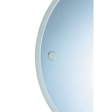 Valsan Porto Mirror; Polished Nickel