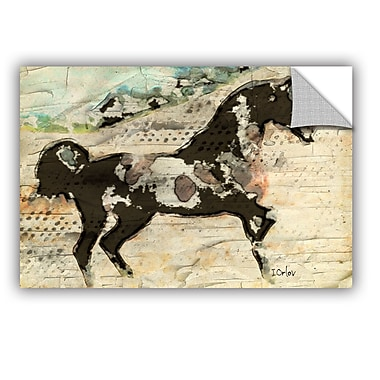 ArtWall Wild Horse by Irena Orlov Wall Mural; 24'' H x 36'' W x 0.1'' D