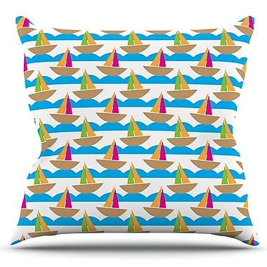 KESS InHouse Beside the Seaside by Apple Kaur Designs Outdoor Throw Pillow