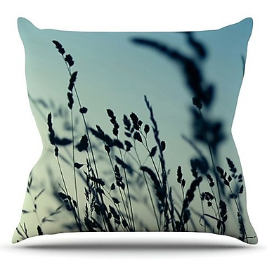 KESS InHouse Cool Breeze by Ingrid Beddoes Outdoor Throw Pillow