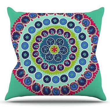 KESS InHouse Surkhandarya by Laura Nicholson Outdoor Throw Pillow