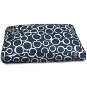 Majestic Pet Fusion Rectangle Pet Bed w/ Waterproof Denier Base; Small (27'' L x 20'' W)