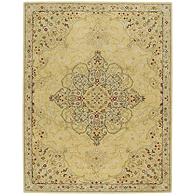 Capel Smyrna Hand-Tufted Yellow Area Rug; Runner 2'6'' x 8'6''