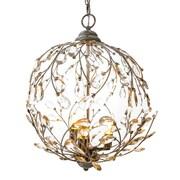 River of Goods Garden Glam 3-Light Globe Pendant