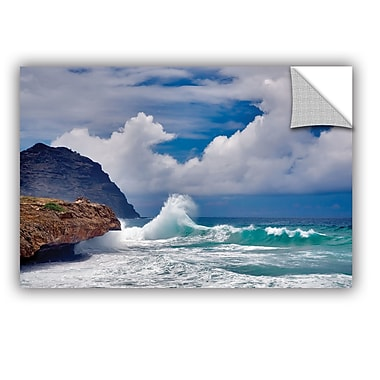ArtWall Wave Hello by Dennis Frates Wall Mural; 16'' H x 24'' W x 0.1'' D