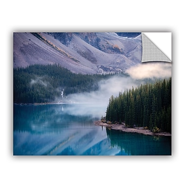 ArtWall Mountain Mist by Dennis Frates Wall Mural; 24'' H x 32'' W x 0.1'' D