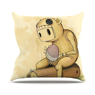 KESS InHouse In All the While Outdoor Throw Pillow
