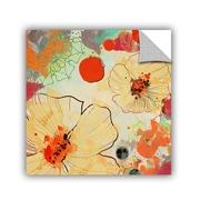 ArtWall Beautiful Flowers I 2 by Irena Orlov Wall Mural; 18'' H x 18'' W x 0.1'' D