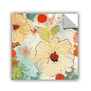 ArtWall Beautiful Flowers II 2 by Irena Orlov Wall Mural; 14'' H x 14'' W x 0.1'' D