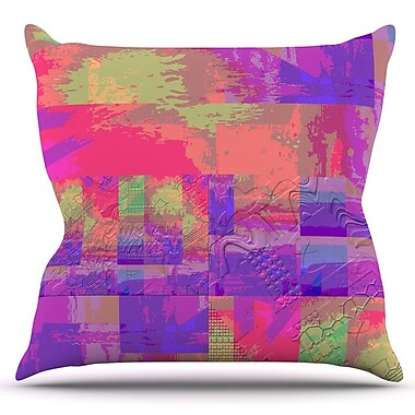 KESS InHouse Embossed Impermenance by Nina May Outdoor Throw Pillow