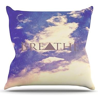 KESS InHouse Breathe by Rachel Burbee Outdoor Throw Pillow