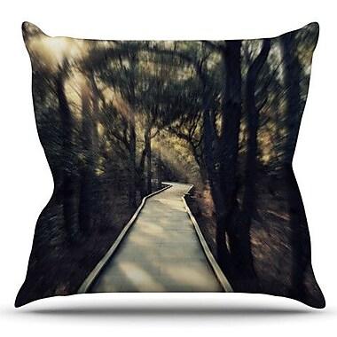 KESS InHouse Dream Worthy by Robin Dickinson Outdoor Throw Pillow