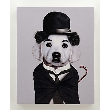Empire Art Direct Pets Rock ''Tramp'' Graphic Art on Wrapped Canvas