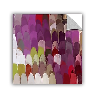 ArtWall Abstract Rhythms No 168 by Irena Orlov Wall Mural; 18'' H x 18'' W x 0.1'' D