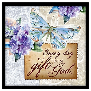 Dexsa ''Every Day Is a Gift'' Framed Textual Art