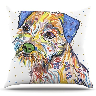 KESS InHouse Rory by Rebecca Fischer Outdoor Throw Pillow