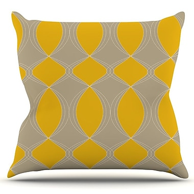 KESS InHouse Geometries in by Julia Grifol Outdoor Throw Pillow