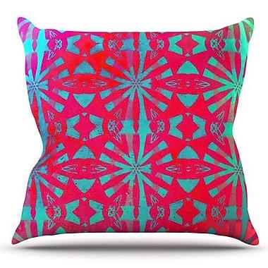 KESS InHouse Aloha by Alison Coxon Outdoor Throw Pillow