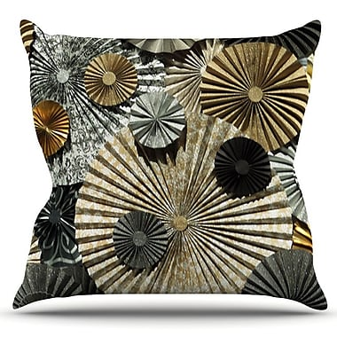 KESS InHouse All That Glitters by Heidi Jennings Outdoor Throw Pillow