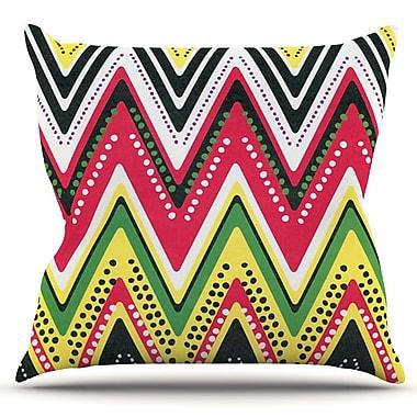 KESS InHouse Jamaican Me Crazy by Heidi Jennings Outdoor Throw Pillow