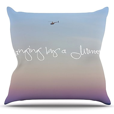 KESS InHouse Hanging By A Moment by Beth Engel Outdoor Throw Pillow